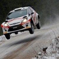Henning Solberg stiller til start i Vodaphone Rally de Portugal Rally, Portugal
