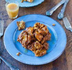 Pumpkin Cinnamon Overnight Pull-Apart French Toast | AllFreeCasseroleRecipes.com