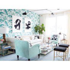 """My art looks pretty boss in @NicoletteMason's living room thanks to the styling a of Ms. @em_henderson   Photo: Zeke Ruelas"" Photo taken by @jaimederringer on Instagram, pinned via the InstaPin iOS App! http://www.instapinapp.com (09/28/2015)"