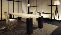 ARMANI / CASA|アルマーニ / カーザ ブラジル初店舗「アルマーニ / カーザストア」 「Eliseo Table」「Dalia Chair」