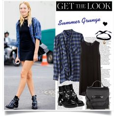 """""""Grungy Candice Swanepoel"""" by elske88 on Polyvore"""