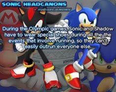 ☆ Sonic Headcanons ☆
