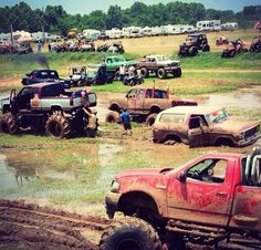 friends, jeep, heaven, redneck, family reunions, earth, families, muddy trucks, country