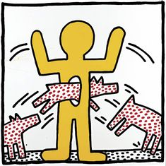 Keith Haring – The Alphabet, an exhibition at Albertina, Wien. On display until June Albertina in Wien dedicates a comprehensive exhibition to Keith Keith Haring Prints, Keith Haring Art, K Haring, Albertina Wien, Keith Allen, James Rosenquist, Ecole Art, Principles Of Art, Poster Prints