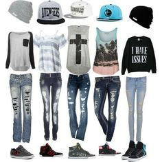 Fashion outfits, cool outfits for girls, nice outfits, swag outfits, back. Outfits With Hats, Swag Outfits, Fall Outfits, Casual Outfits, Teen Outfits, Nice Outfits, Cool Outfits For Girls, Cute Summer Outfits For Teens For School, Edgy School Outfits