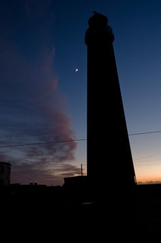 Lighthouse Silhouette by Alexander Silver, via 500px