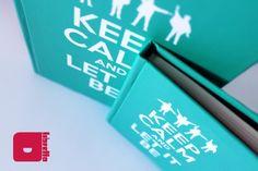 Cadernos artesanais - Libretto Keep Calm and Let It Be