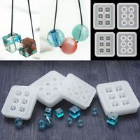 Ball Pendant Resin Silicone Mold Necklace Epoxy DIY Jewelry Making Craft Tool