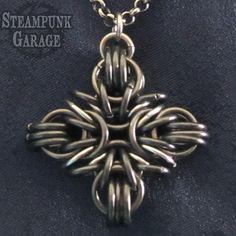 Greek / Iron / Catholic Cross Pendant Stainless Steel