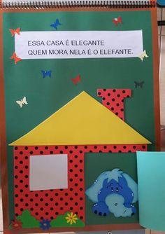 """Atividades Escolares: Livro gigante """"A casa e seu dono"""" Elias José Teaching, Wallpaper, Logos, Frame, Creative Activities For Kids, Literacy Activities, Tall Tales Activities, Geometric Fashion, Classroom"""