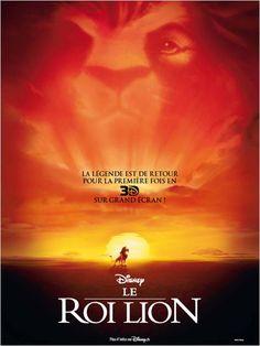 Sortie au cinéma le 11 avril - Le Roi Lion en 3D.