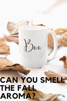 "Fun and cute ""Boo"" Coffee Mug. Yes, it is a bit early but fall is almost here and there's never too much coffee! Bigger size white, durable ceramic mug. High quality sublimation printing and best of all dishwasher and microwave safe."