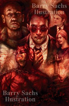 Daredevil Man Without Fear Featuring Matt by BarrySachsBarryGood