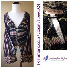FREE PEOPLE Cardigan Kimono Striped Sweater Jacket - Available for sale in my #Poshmark closet in size Medium! Don't miss out on this deal! @poshmark #FreePeople #ForSale #Shopping #Cardigans #Sweaters #Fashion #Sale #Bohemian #winter #ootd #Stunning #Maxi #ShopMyCloset #SouthernGirlFashion