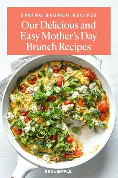 Mother's Day Luncheon | This Mother's Day, prepare your Mom a beautiful homemade lunch spread with one or a few of these spring brunch recipes. These classic brunch recipes are simple to make and prep ahead the night before. #mothersdayrecipes #realsimple #mothersdayideas #giftideas Grapefruit Salad, Nicoise, Green Veggies, Mothers Day Brunch, In Season Produce, Us Foods, Brunch Recipes, Lunch, Homemade