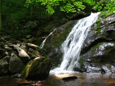 Upper Shamokin Falls 2.5 miles round trip, 620 feet elevation gain Difficulty: Easy-moderate. Near Wintergreen