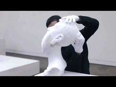 Flexible paper sculptures , art to another level