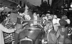 Storming the car of st. Nikolaus,- 1973, Speyer