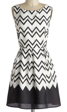 Black & white chevron dress http://rstyle.me/n/bupwsnyg6