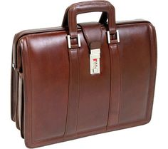 McKlein Morgan Leather Brief