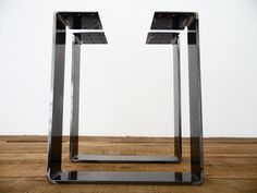 16 Bench Legs Flat Steel Bench Legs SET2 by Balasagun on Etsy