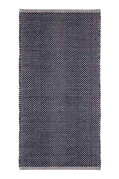 Tapis en coton à motif