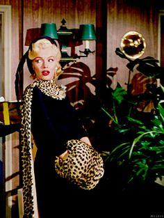 """Marilyn Monroe in """"Gentlemen Prefer Blondes""""1953"""