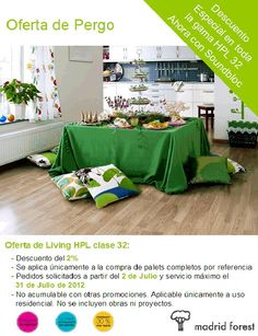 #oferta #verano #Pergo #Living