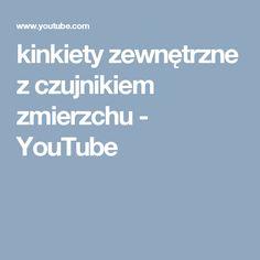 kinkiety zewnętrzne z czujnikiem zmierzchu - YouTube