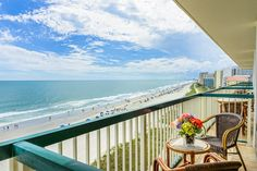 Enjoy a serene ocean view right from your balcony!