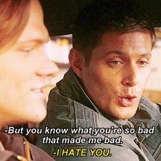 [Gif] gag reel #Jensen #Jared