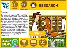 BrainPOP: Research