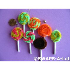 SWAPS-A-Lot - Mini Lollipop on a Stick SWAPS Kit for Girl Kids Scout (25)
