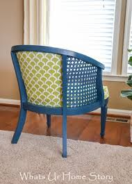 Image result for cane painted chair blue
