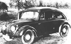 Primer vocho.  1936 diseñado por Ferdinand Porsche