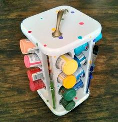 She Buys A Spice Rack, But Doesn't Use It To Hold Her Ingredients. This Is A Brilliant Idea