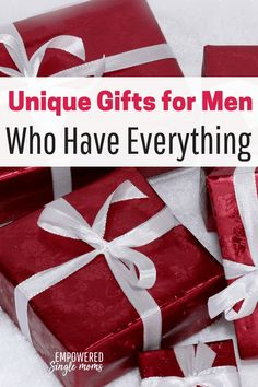 Are you looking for a Christmas, Father's Day or birthday gift for a guy who has everything? Whether it's your father or boyfriend unique gifts for men are hard to find. These gadgets are just the right gift for the men in your life. Gifts For Boyfriend Parents, Presents For Boyfriend, Christmas Gifts For Boyfriend, Presents For Men, Birthday Gifts For Boyfriend, Birthday Gifts For Girls, Gifts For Husband, Boyfriends, Birthday Ideas