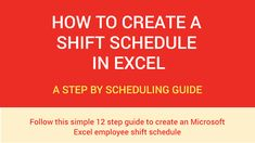 If you haven't yet had to put together a shift schedule for a team of employees, the prospect can seem daunting.