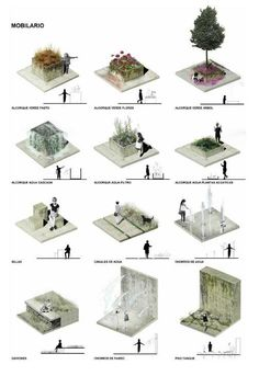 from the architecture portfolio Daniela Ramírez Ospina - . - from the architecture portfolio Daniela Ramírez Ospina – - Plans Architecture, Romanesque Architecture, Cultural Architecture, Architecture Graphics, Landscape Architecture, Architecture Diagrams, Architecture Design, Landscape Diagram, Urban Landscape