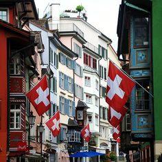 """alpenstrasse: """" Zurich, Switzerland """" - originally   posted by travelthisworld"""