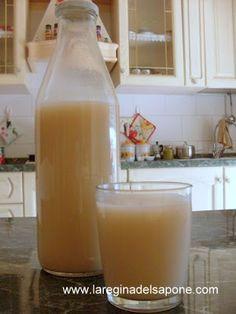 La Regina del Sapone: latte di riso