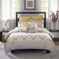 Ink+Ivy Ankara 3-piece Cotton Comforter Set - Overstock™ Shopping - Great Deals on Ink and Ivy Comforter Sets