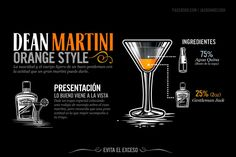 Dean Martini - Orange Style:   Jack Daniel's Drinks