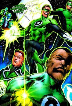 Green Lantern Corps by Ivan Reis