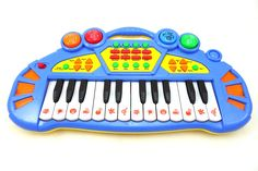 Musical Toy Keyboard Instrument Kids Piano Plays Music And Sounds Multifunctional Toy Piano (Colors may vary) -- Awesome products selected by Anna Churchill Holiday Gift Guide, Holiday Gifts, Christmas Gifts, Educational Software, Educational Games, Student Login, Kids Piano, Education And Development, Cleaning Toys
