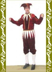kostým Kašpárek velký, půjčovna Ladana