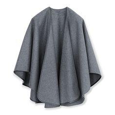 Antonia Lodencape grau Cape, Sweaters, How To Wear, Fashion, Shoe Polish, Chic, Grey, Colors, Clothes