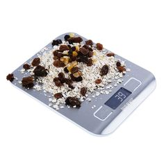 Duronic KS1007 Compact Slim Design Digital Display 5KG Kitchen Scales with 2 Years FREE Warranty: Amazon.co.uk: Kitchen & Home