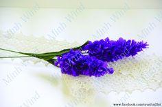 [How to make] lavender paper flower tutorial - Hướng dẫn làm hoa oải hương: https://www.youtube.com/watch?v=R3iDjw12QxM&list=PLoh5l3A2Cl68yQ9OoUUKx75XTki8ZL775&index=14