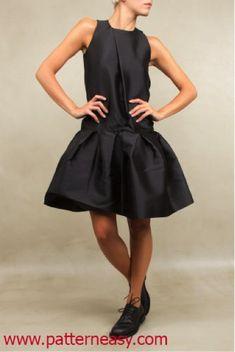 Выкройка стильного платья | Выкройки онлайн и уроки моделирования